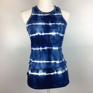 Athleta Tie Dye Ribbed Tank